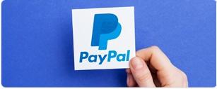 Paypal ist berühmte Zahlungsmethodetitle