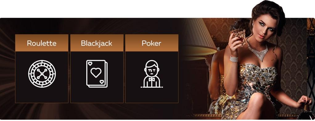 Große Auswahl an Glücksspielen in österreichischen Online Casinos