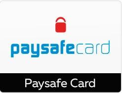 Eine beliebte Zahlungsmethode ist Paysafecard